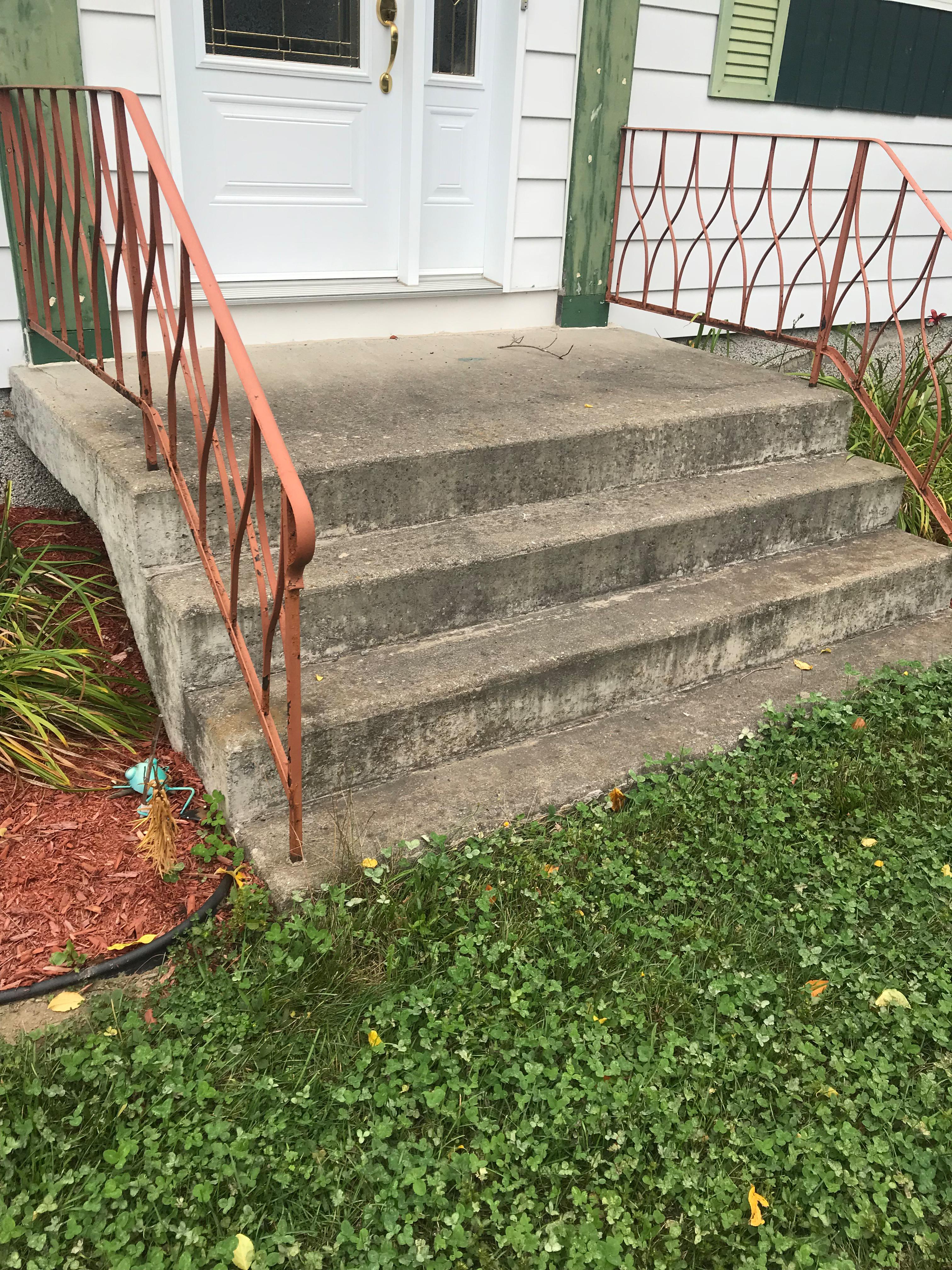 Escaliers polyaspartique AVANT